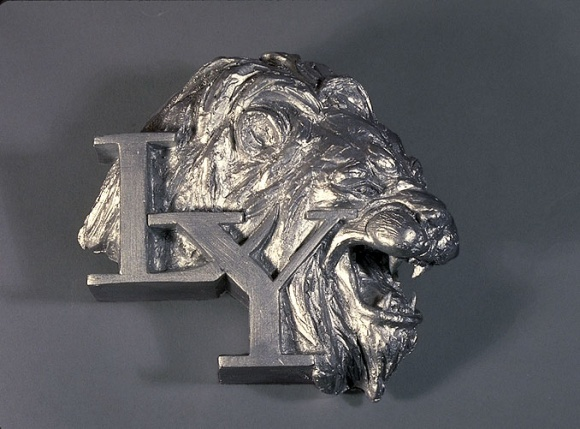 Lion Plaque for Lawton-York
